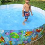 Finally swimming!