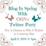 The OBN's first twitter party! April 8th