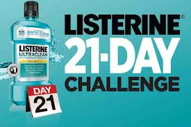 #LISTERINE 21 day challenge complete!