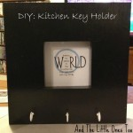 DIY: Kitchen Key Holder