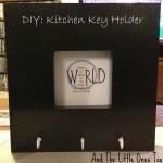 DIY: Kitchen Key Holder