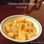 Recipe: Chicken and Dumplings