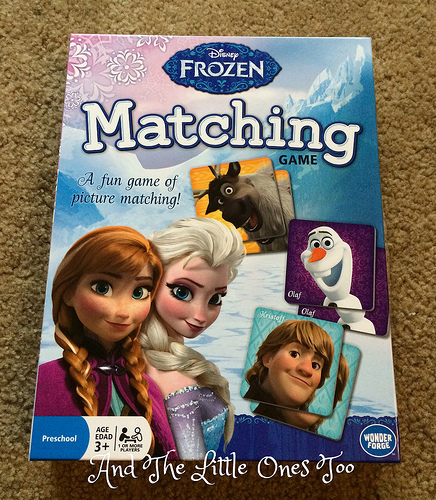 Disney Frozen Matching Game (ends 4/30)