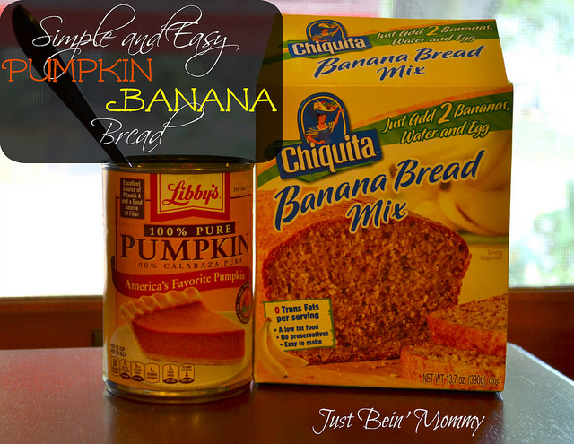 Simple and Easy Pumpkin Banana Bread