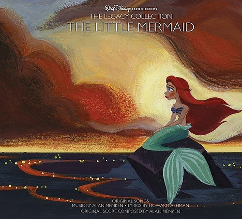 Bringing home the music of The Little Mermaid #disneymusic #enmnetwork