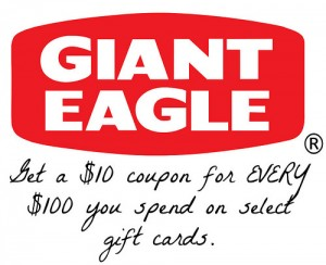 Earn a $10 Coupon while buying Gift Cards! #GEHoliday15