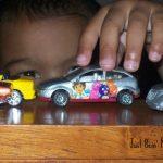 My boys play with cars