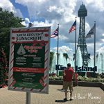 Did you celebrate Christmas in July at Kings Island?