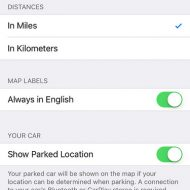Remember where you parked with Bluetooth and IOS10