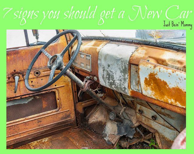 7 signs you should get a new car