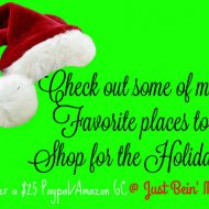 Finishing up Holiday shopping? (with a giveaway)