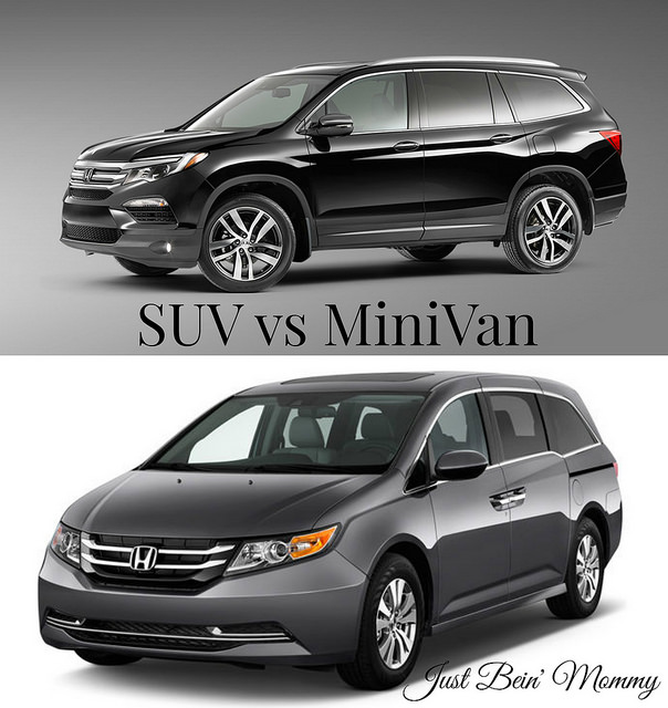 MiniVan or SUV? The choice is up to you