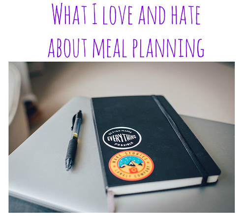 Meal Planning and me