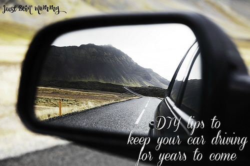 DIY tips to keep your car driving for years to come