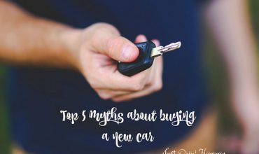 Top 5 myths about buying a new car