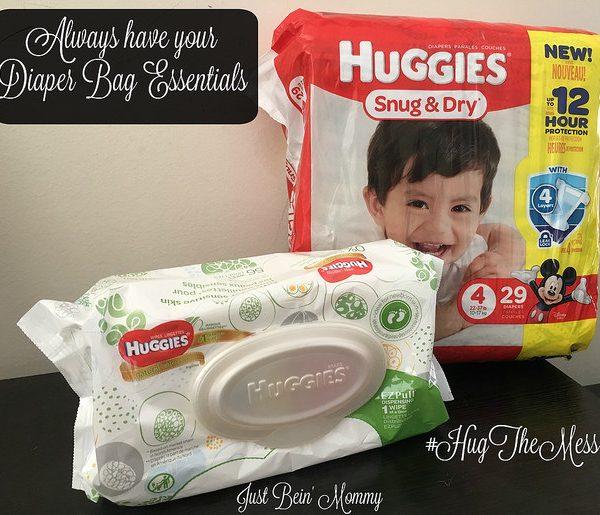 Always have your Diaper Bag Essentials