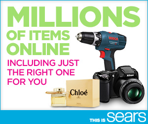 Find what you're looking for and #MoreatSears