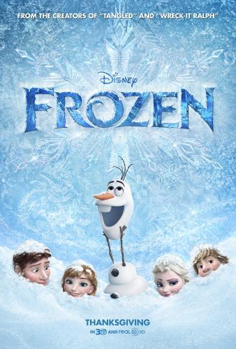 Frozen: In Theaters today! (11/27) #DisneyFrozen