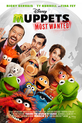 Muppets Most Wanted in theaters today! (3/21)