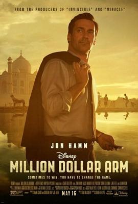 Disney's Million Dollar Arm in theaters today! (5/16)