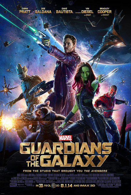 GUARDIANS OF THE GALAXY In theaters!