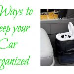 5 ways to keep your car organized