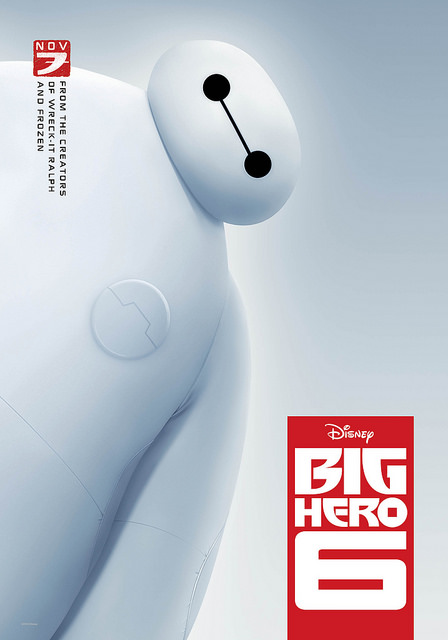 Big Hero 6 in theaters today! (11/7)