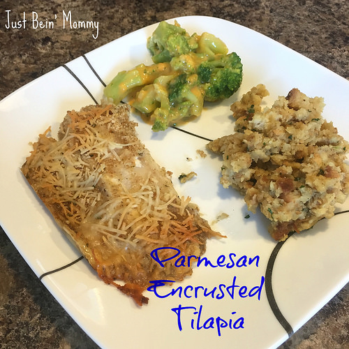 Recipe: Parmesan Encrusted Tilapia