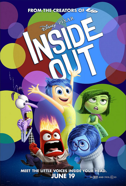 Inside Out in theaters today! (6/19)