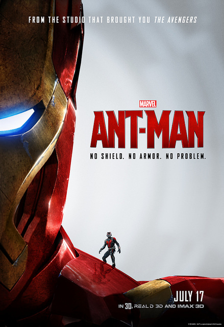 Marvel's Ant-Man In Theaters today! (7/17)