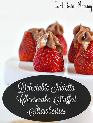 Recipe: Delectable Nutella Cheesecake Stuffed Strawberries