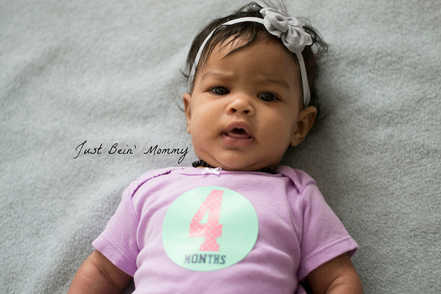 BabyGirl is 4 months old!