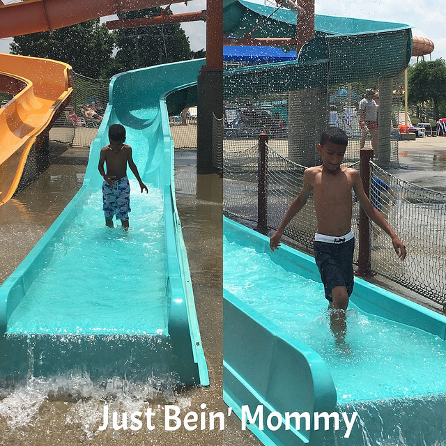 Taking a Tropical Plunge at Kings Island