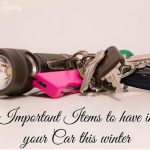 Important items to have in your car this winter