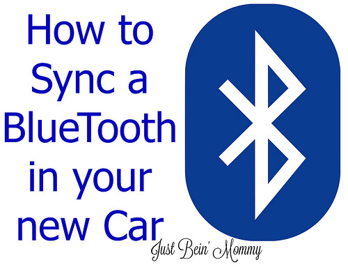 How to Sync a BlueTooth in your new Car
