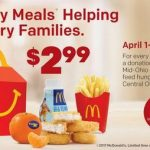 Happy Meals® Helping Hungry Families Fundraiser