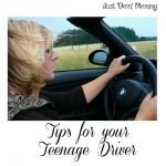 Tips for a parent of a Teenage Driver
