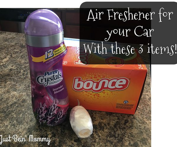 DIY: Air Freshener for your Car