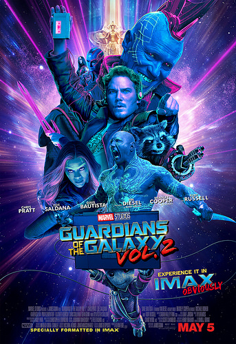 GUARDIANS OF THE GALAXY VOL. 2 Now playing!