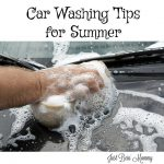 Car washing tips for summer
