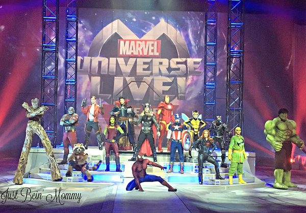 Get ready to see Marvel Universe Live: Age of Heroes