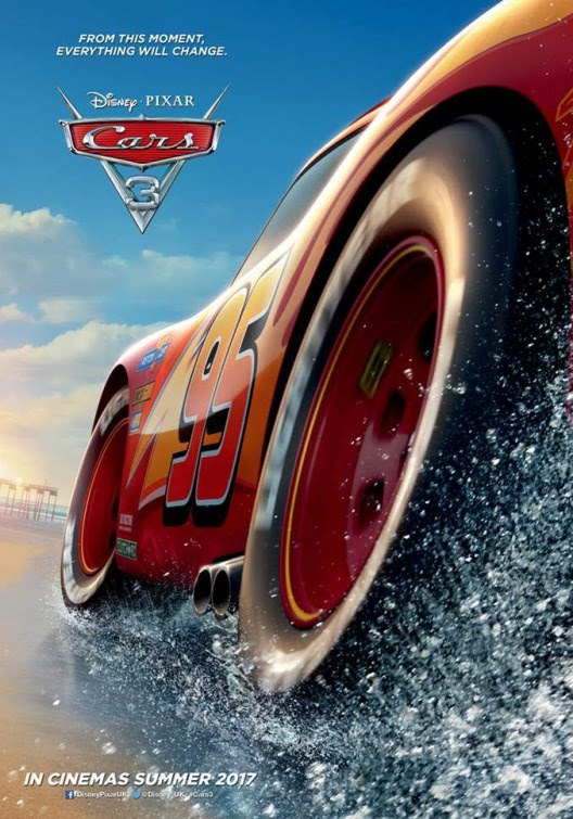 Cars 3 in Theaters Today!