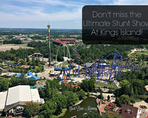 Don't miss the Ultimate Stunt Show at Kings Island