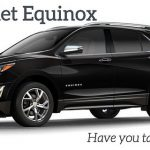 Take a peek at the new 2018 Chevrolet Equinox