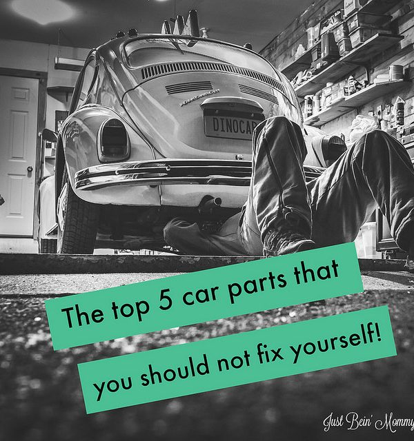 The top 5 car parts that you should not fix yourself