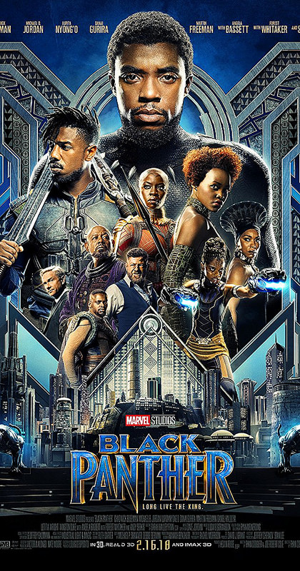 Black Panther in Theaters now
