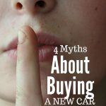 4 Myths about buying a new car