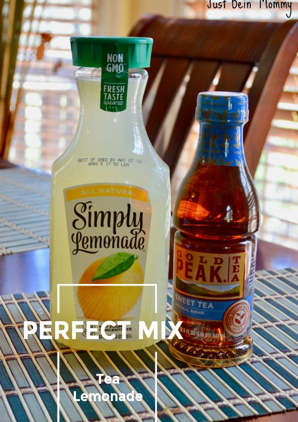 Perfect Mix Tea Lemonade: Share for Easter!