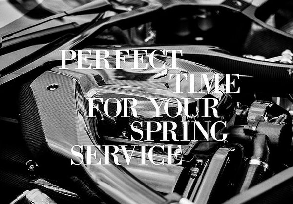 Time for your Spring Service