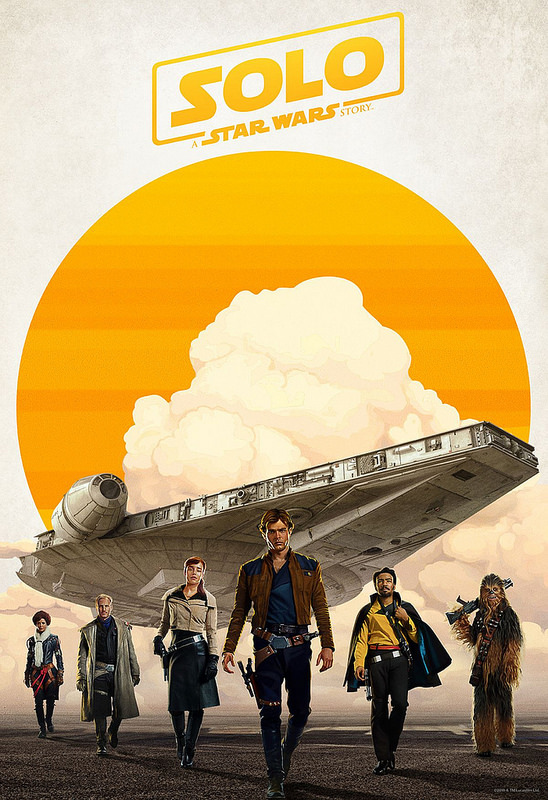 Solo: A Star Wars Story in theaters now!